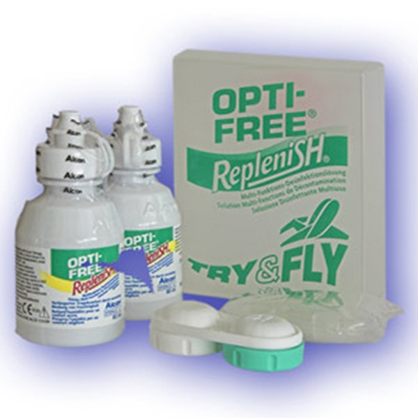Opti-Free Replenish try&fly